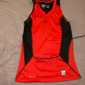 Nike RED Muscle shirt